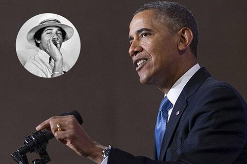 Poczęstował Baracka Obamę marihuaną a ten…, GrowEnter