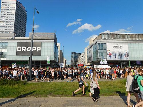 Marsz Wyzwolenia Konopi 2015 Warszawa, GrowEnter
