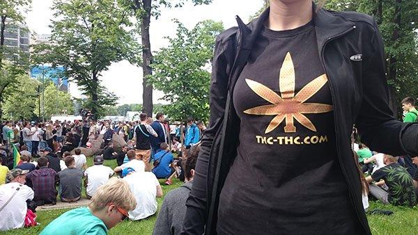 Marsz Wyzwolenia Konopi 2012 Warszawa, GrowEnter